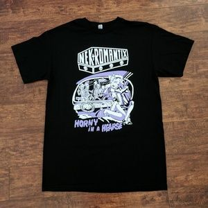 NEW NEKROMANTIX Horny In A Hearse unisex t-shirt
